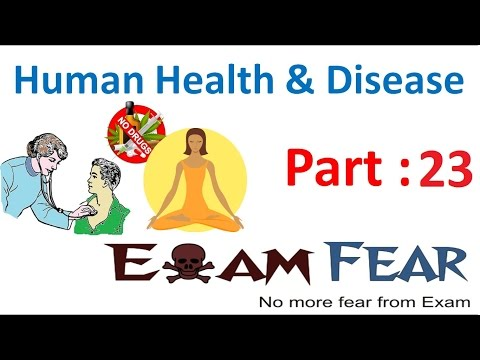 Biology Human Health & Diseases part 23 (Tobacco, Smoking, Drugs effects) class 12 XII