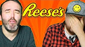 Irish People Try Reese&#39s Peanut Butter Candy