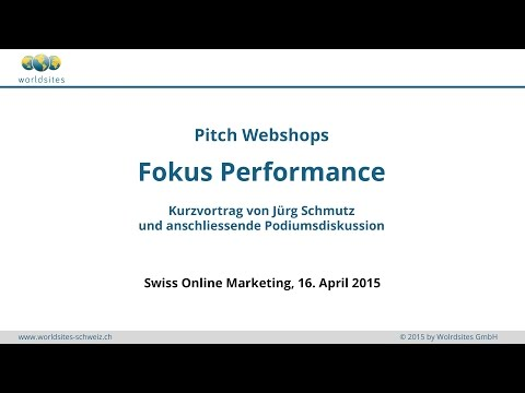 Swiss Online Marketing 2015: Pitch Webshops