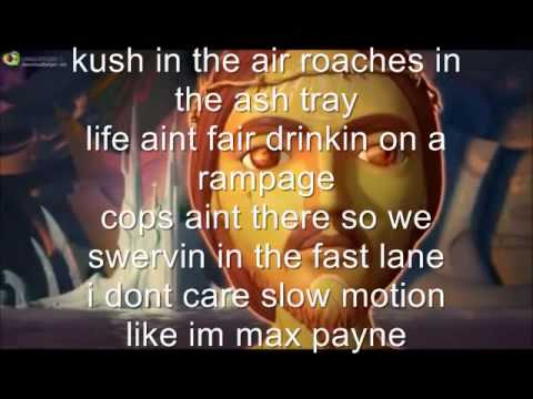 Twiztid-Wasted (lyrics on screen+video) -A New Nightmare