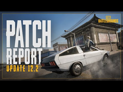 Patch Report #12.2 - TAEGO, Comeback BR and Other New Features   PUBG