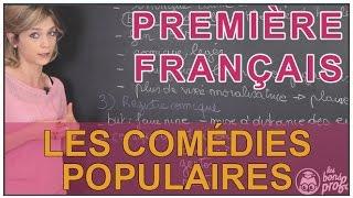 La comédie populaire et le registre comique - Français Première - Les Bons Profs