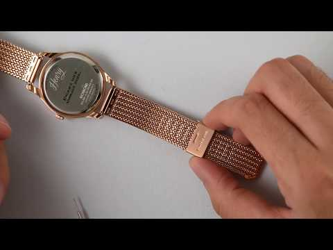 How To:  Adjust Your Mesh Bracelet