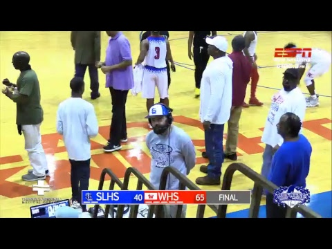 South Lafourche Tarpons @ Woodlawn Knights (Boys Basketball Playoff 1st Round)