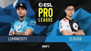 CS:GO - Luminosity vs. Cloud9 [Mirage] Map 3 - Group C - ESL Pro League Season 9 Americas