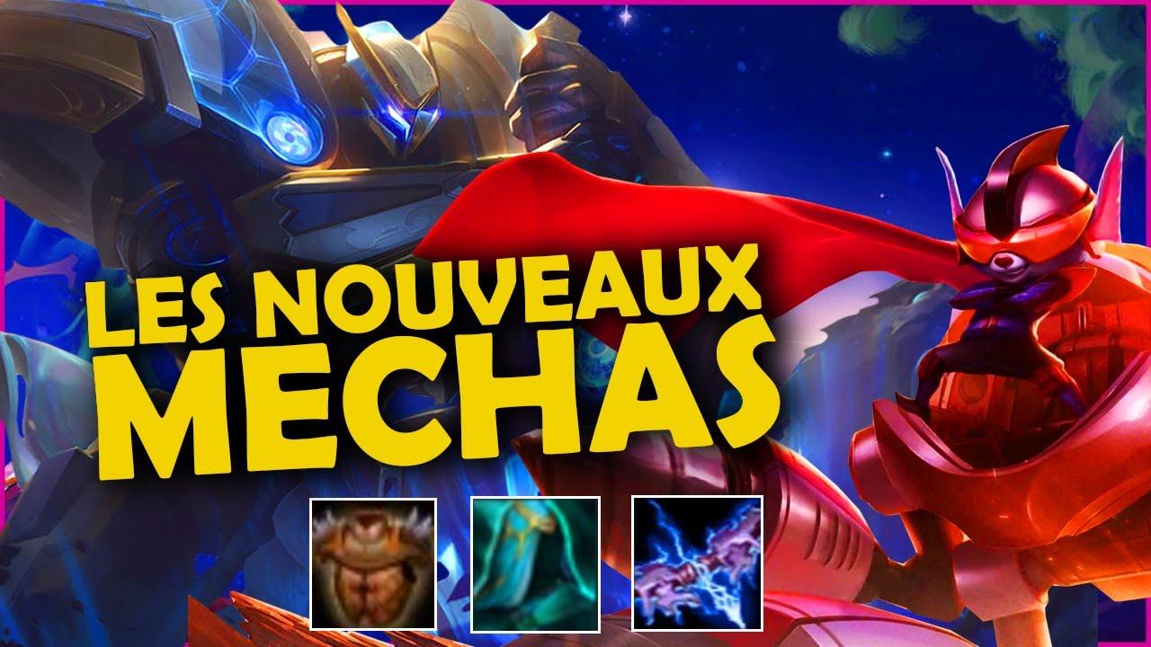 Je joue les NOUVEAUX mechas | TFT 10.12 FR | SET 3.5 | TOP 5 EUW
