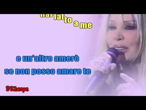 Karaoke - Con il tuo nome (Ivana Spagna).flv