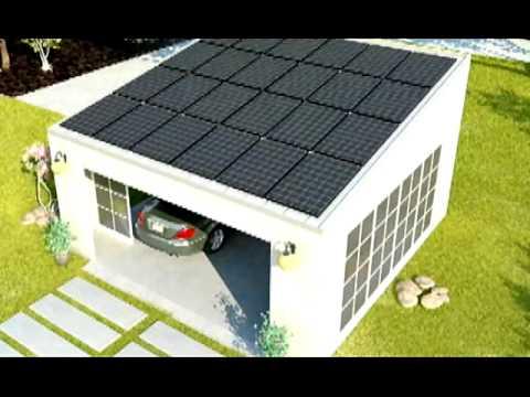 The Lifeport Modular Solar Powered, Modular Garage Panels