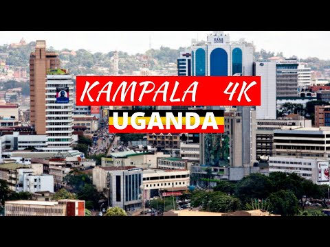 Kampala 4K In 10 Minutes | Ugandan Capital City