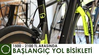1500-2100 TL Başlangıç Yol Yarış Bisikletleri - Bianchi - Mosso - Kron - Carraro