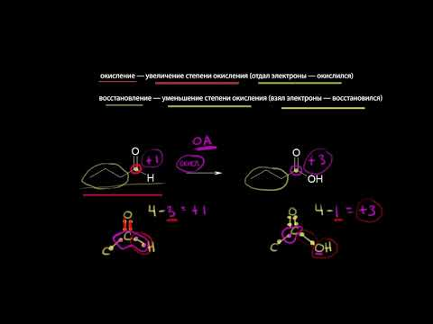 Органические окислительно-восстановительные реакции(видео 6) Резонансные структуры