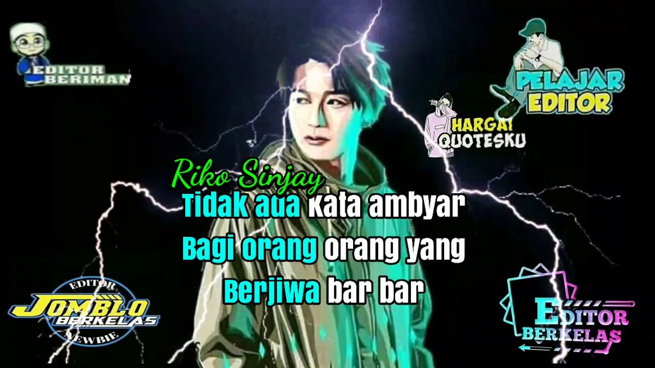 Quotes Anak Editor Berkarya Youtube