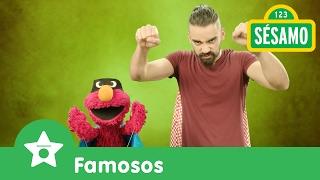 Sésamo: Elmo y Diego juegan superhéroes