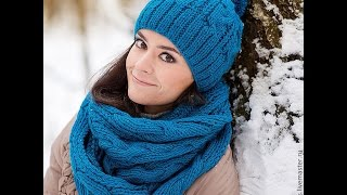 видео Женские шарфы