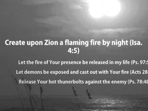Spiritual Warfare Prayers to Release the Consuming Fire of God