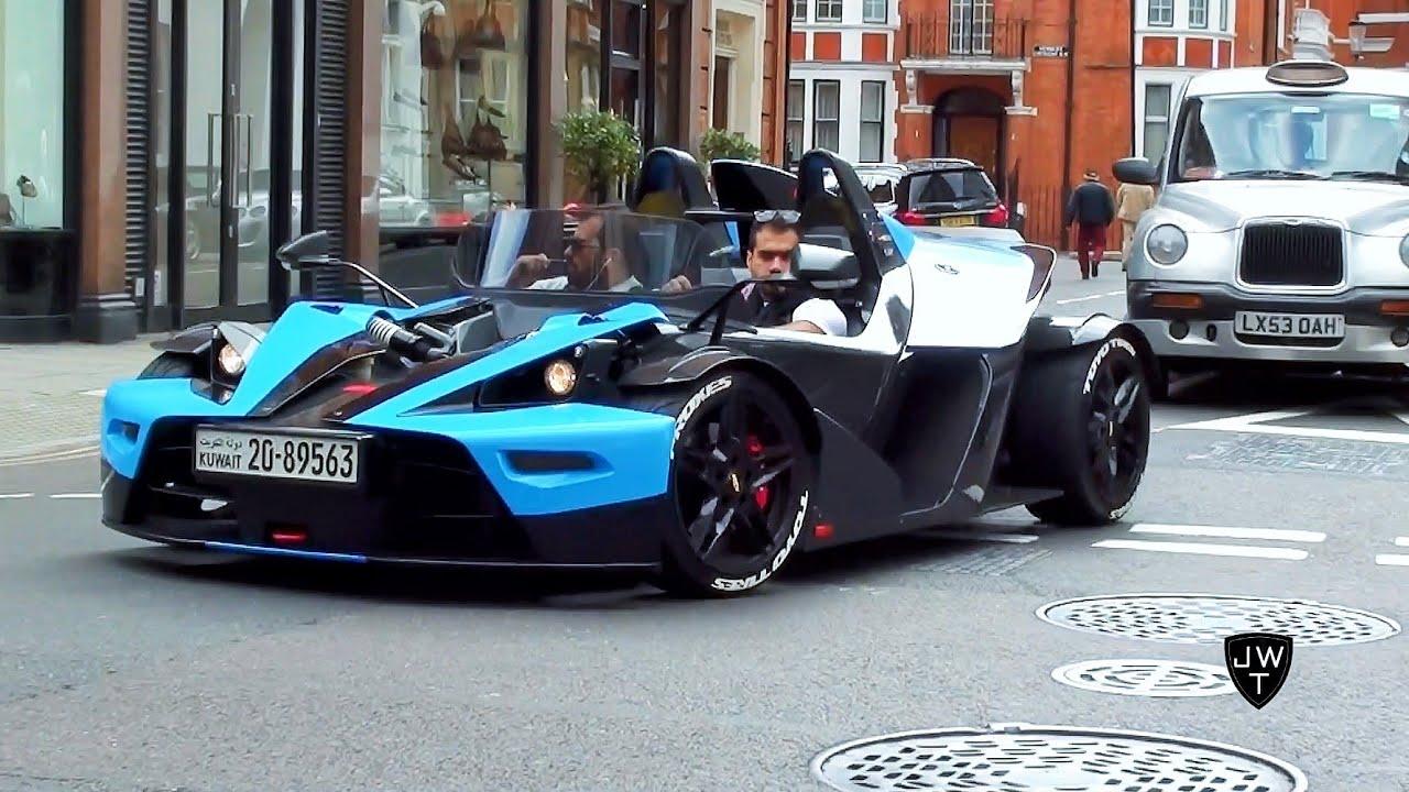 Ktm X Bow >> Arab KTM X-Bow R's in London! Start Up Sound ...