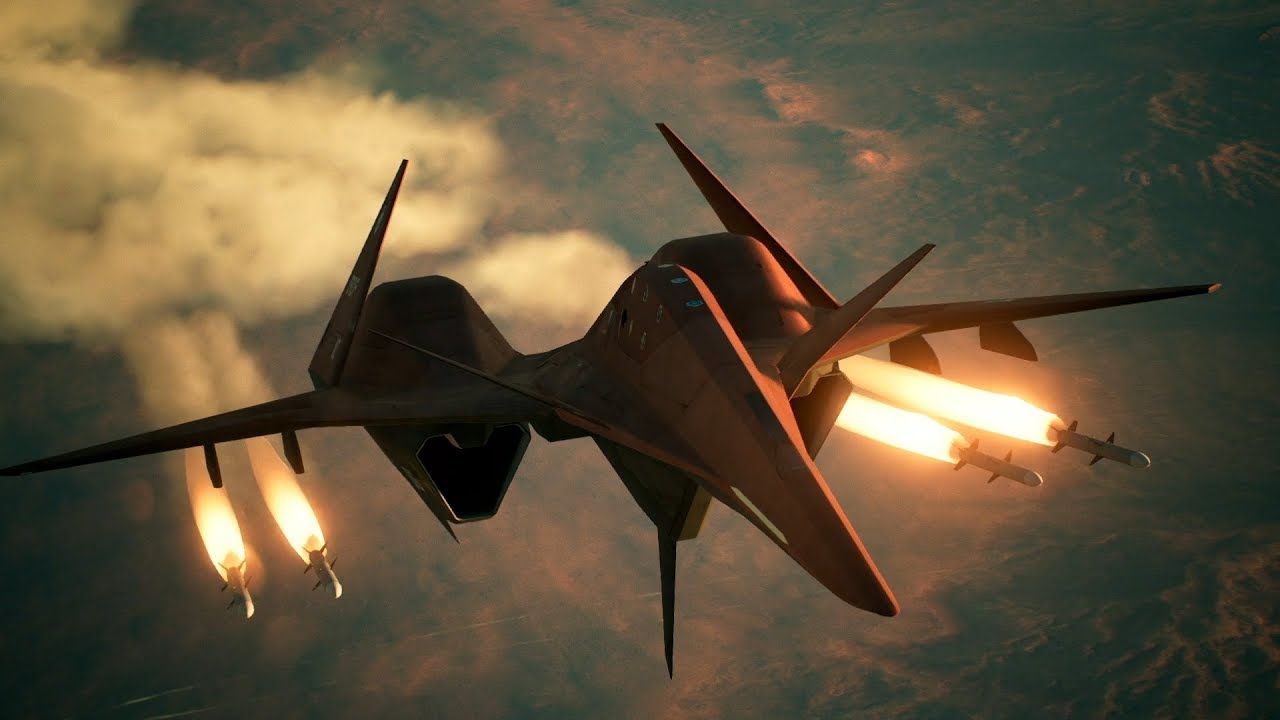 Ace Combat 7 Shows Off the Futuristic Aircraft Included in