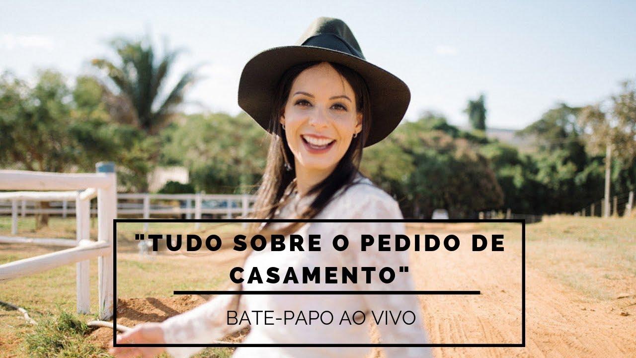 Bate-papo AO VIVO com a Marcela Taís contando tudo sobre o pedido de casamento
