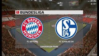 Бавария Шальке 04 Германия Бундеслига 1 тур 18 09 20
