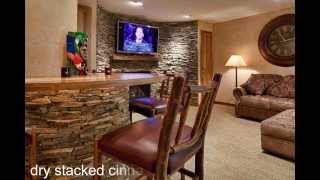 National Platinum Award Winning Finished Basement
