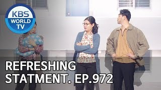 Refreshing Statements | 이런 사이다 [Gag Concert / 2018.11.10]