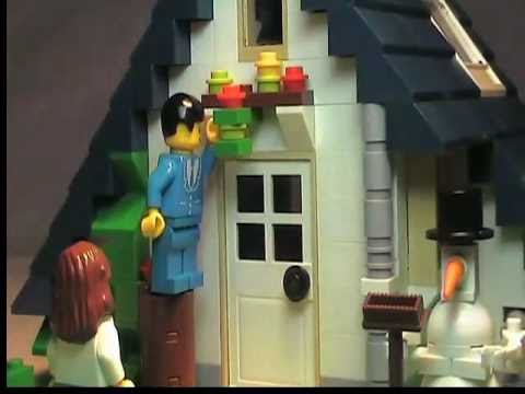 "Lego Christmas ""Holly Jolly Christmas"" Stop-Motion"
