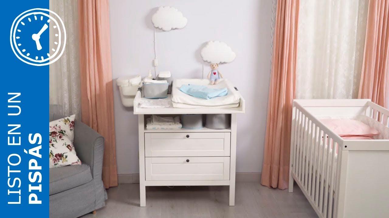 Ideas De Decoracion Con Muebles De Ikea.Ideas Para Decorar La Habitacion Del Bebe En Un Pispas Ikea Youtube