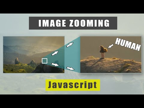 How to Zoom in Image using HTML, CSS, and Javascript