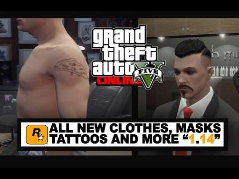 GTA 5 Online Showcase - ALL New DLC Clothes, Masks, Hair Styles ...