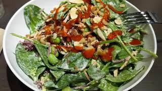 Салат из ГМО ресторан CoreLife Eatery