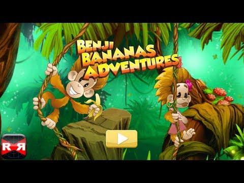 Benji Bananas Adventures - IOS - Universal IPhone/iPad/iPod Touch Gameplay