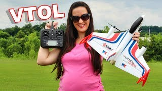 FUN & Easy To Fly VTOL - XK X520 Brushless Power - TheRcSaylors