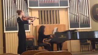 Fernande Decruck - Sonata for saxophone or viola. 3 mov.