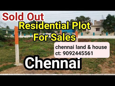 Residential Plot For Sale Chennai | Low Budget Plots Chennai