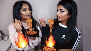 🔥 Extreme Spicy Ramen Noodles Challenge 🔥