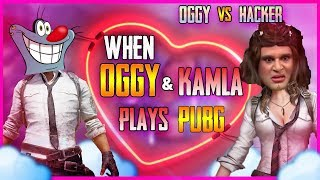 [Oggy Vs Hacker] When Oggy And Kamla plays PUBG Mobile | Valentine Special