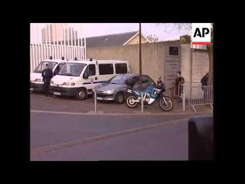WRAP Chirac's motorcade at hospital, Rdeneh