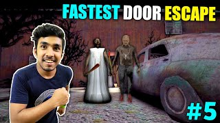 FASTEST DOOR ESCAPE FROM GRANNY&#39S HOUSE  GRANNY CHAPTER 2 GAMEPLAY #5