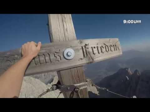 Bergtour Hochkalter (2607m) - Überschreitung - Berchtesgadener Alpen