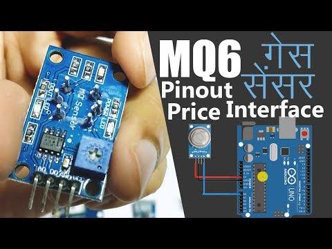 Buy MQ-6 LPG CNG Gas Sensor Module at Lowest Price Online