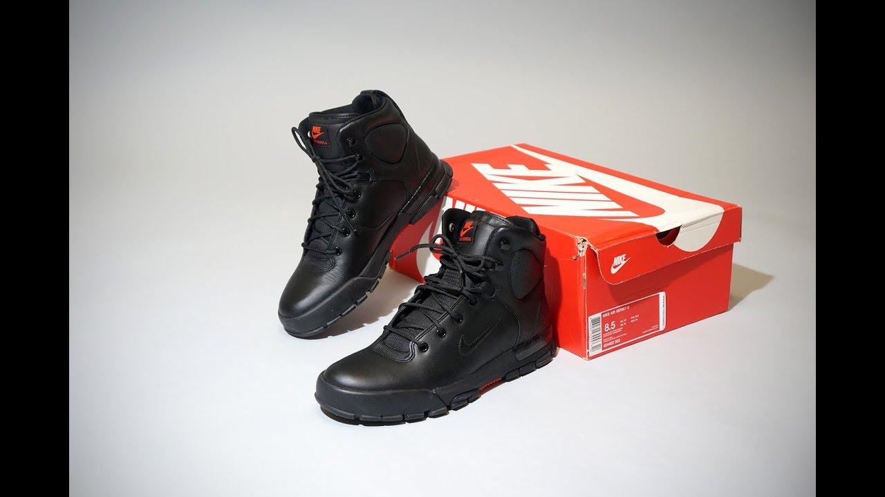 factory price 4d332 d037e Nike Air Nevist 6 ACG Black