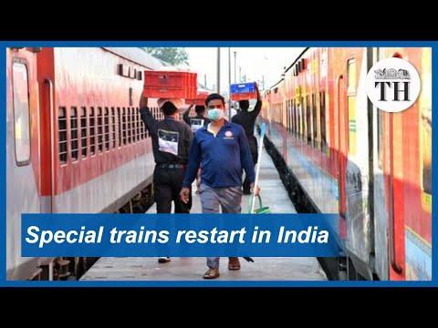 Indian Railways Restart 'special Trains'
