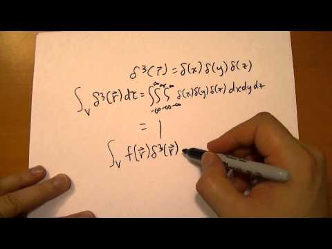 1.5.3 The Three Dimensional Diract Delta Function