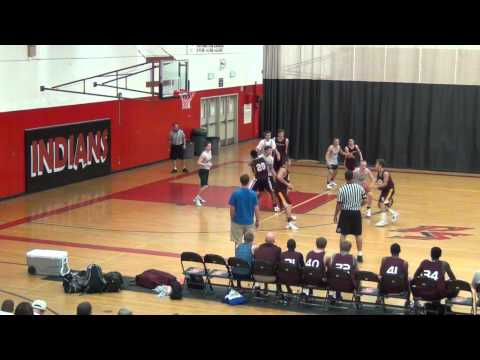 Xavier vs Valley Christian - Palm Springs Tournament - 07.01.12 - Ump is mic'd up! 2nd Half