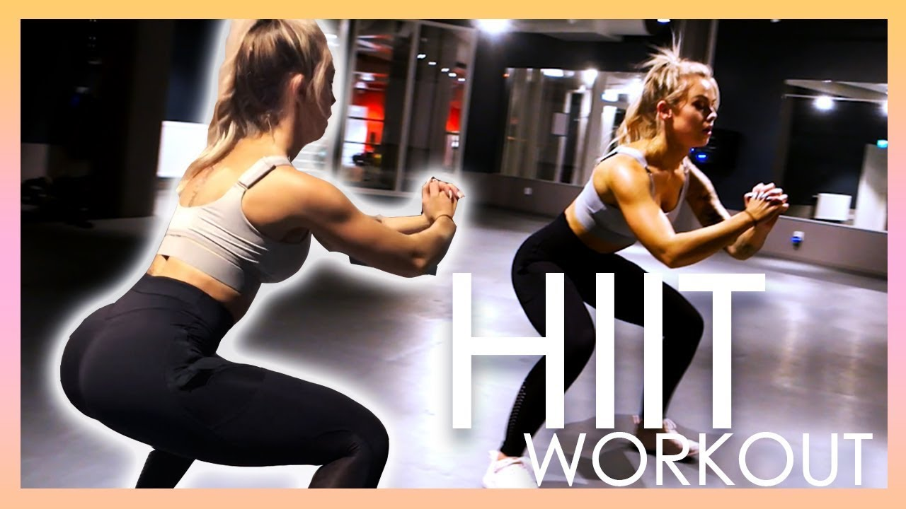 FAT BURNING HIIT WORKOUT - Behind the scenes GymsharkTV on snapchat