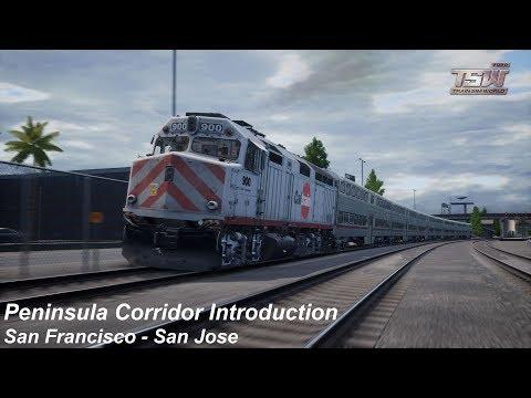 Peninsula Corridor Introduction : San Francisco - San Jose : TSW2020 |