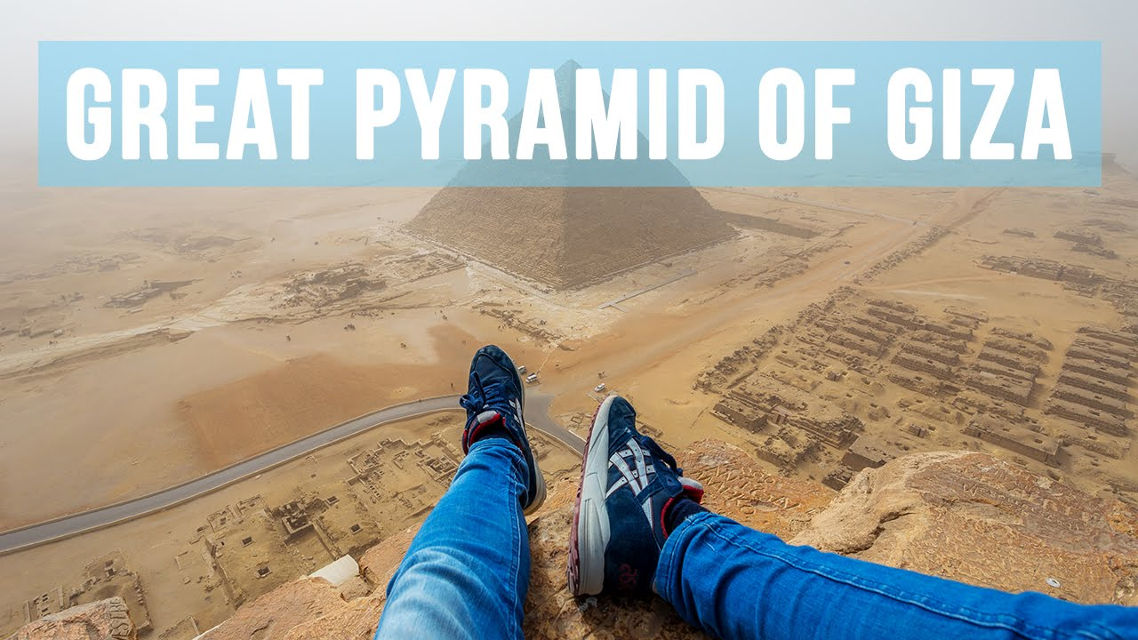climbing the great pyramid of giza 146 metres