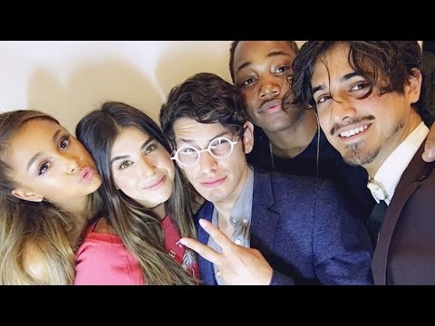 Ariana Grande Reunites With 'Victorious' Cast For Epic Birthday Party