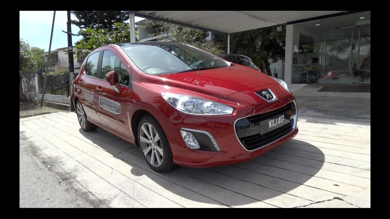 2012 peugeot 308 turbo start up and full vehicle tour vs 2011 308 turbo youtube. Black Bedroom Furniture Sets. Home Design Ideas