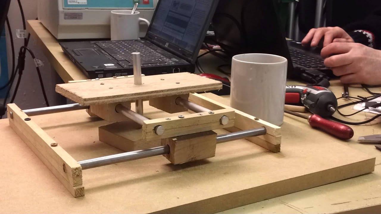 xy machine table